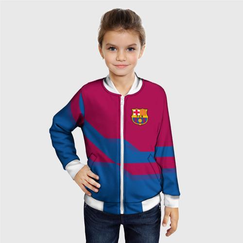 Детский бомбер 3D  Фото 06, FC Barcelona #5