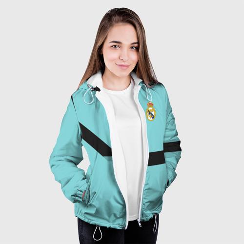 Женская куртка 3D  Фото 04, Real Madrid 2018 #4
