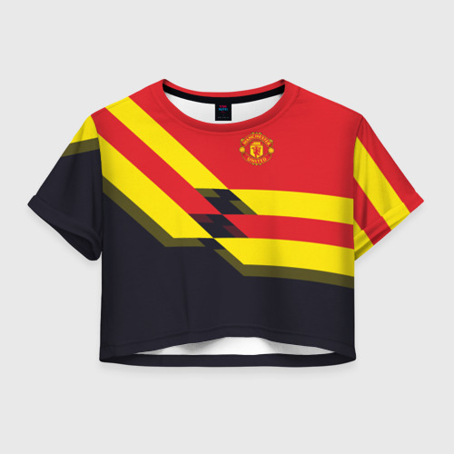 Женская футболка Cropp-top Manchester United 2018