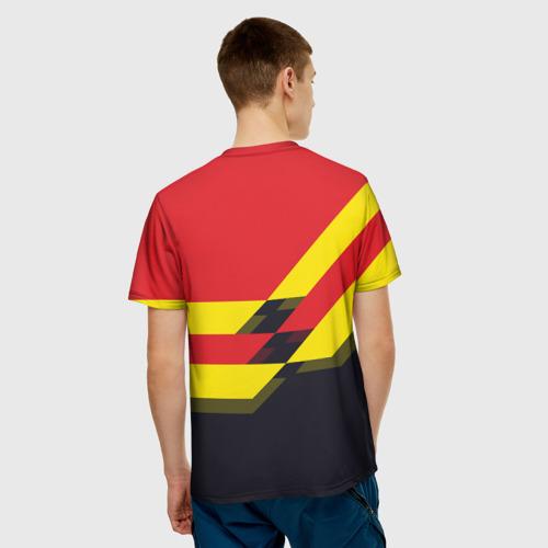 Мужская футболка 3D  Фото 02, Manchester United 2018