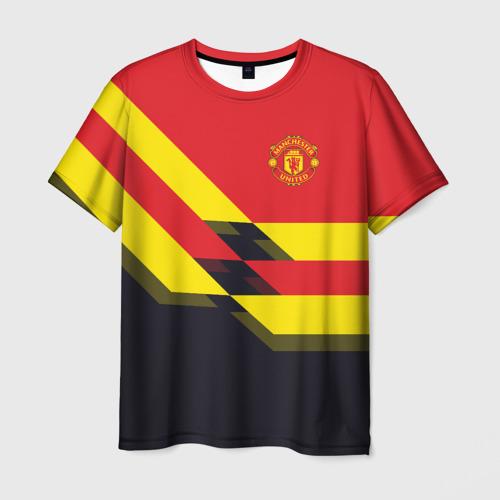 Мужская футболка 3D  Фото 01, Manchester United 2018