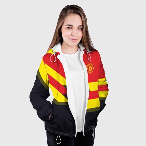 Женская куртка 3D  Фото 04, Manchester United 2018