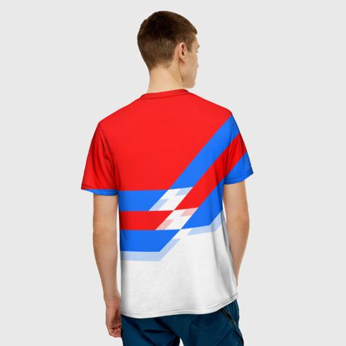 Мужская футболка 3D  Фото 02, ФК Бавария 2018