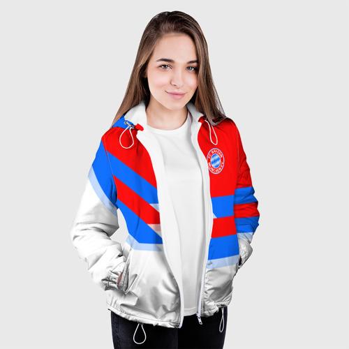 Женская куртка 3D  Фото 04, ФК Бавария 2018
