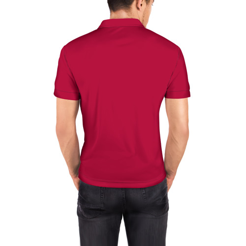 Мужская рубашка поло 3D  Фото 04, Пират