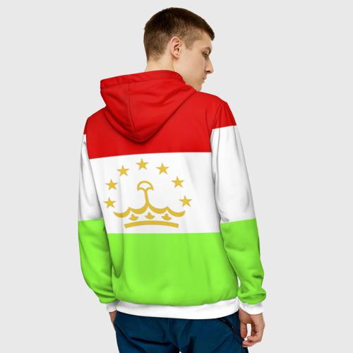 Мужская толстовка 3D  Фото 04, Флаг Таджикистана