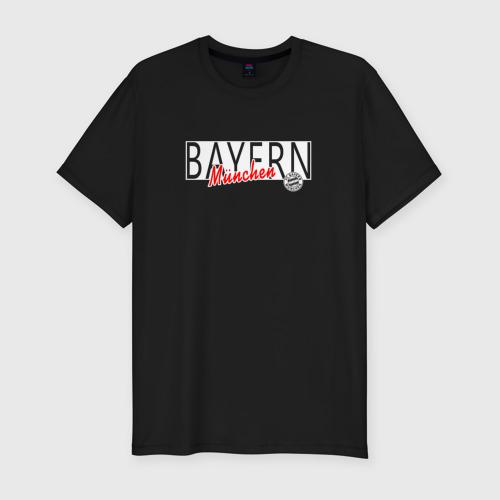 Мужская футболка премиум Bayern Munchen - Munchen style 2