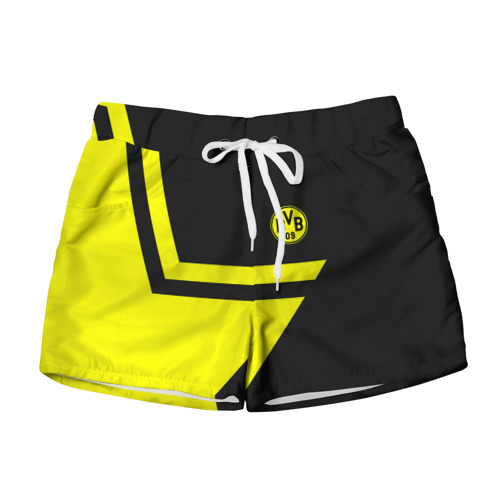 Женские шорты 3D FC Borussia Dortmund 2018 Star