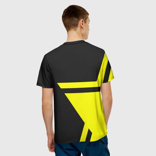 Мужская футболка 3D FC Borussia Dortmund 2018 Star Фото 01