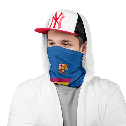 Бандана-труба 3D  Фото 03, FC Barcelona 2018 Star