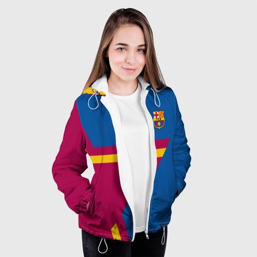 Женская куртка 3D  Фото 04, FC Barcelona 2018 Star