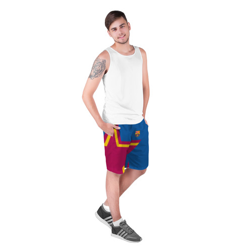 Мужские шорты 3D  Фото 03, FC Barcelona 2018 Star