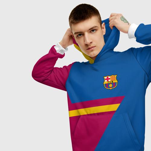 Мужская толстовка 3D  Фото 01, FC Barcelona 2018 Star