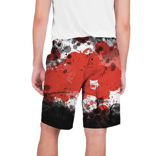 Мужские шорты 3D  Фото 02, Брызги и пятна