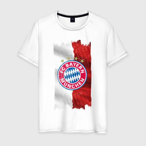 Мужская футболка хлопок Bayern Munchen - Vintage style No. 3
