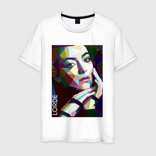 Мужская футболка хлопок Lorde