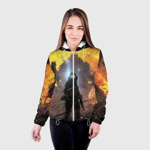 Женская куртка 3D  Фото 03, Titanfall