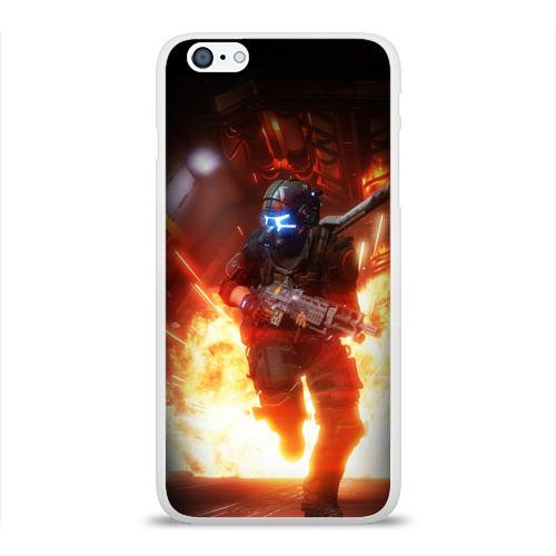 Чехол для Apple iPhone 6Plus/6SPlus силиконовый глянцевый  Фото 01, Titanfall
