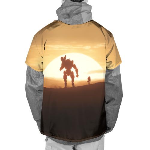 Накидка на куртку 3D  Фото 02, Titanfall
