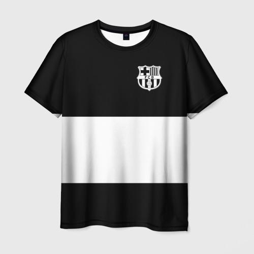 Мужская футболка 3D  Фото 01, FC Barcelona Black Collection