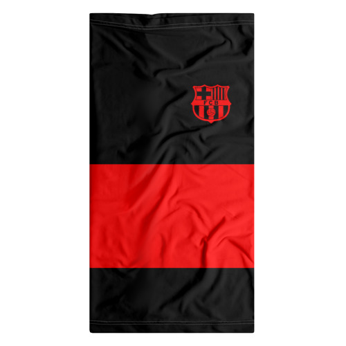 Бандана-труба 3D  Фото 07, FC Barcelona Black Collection