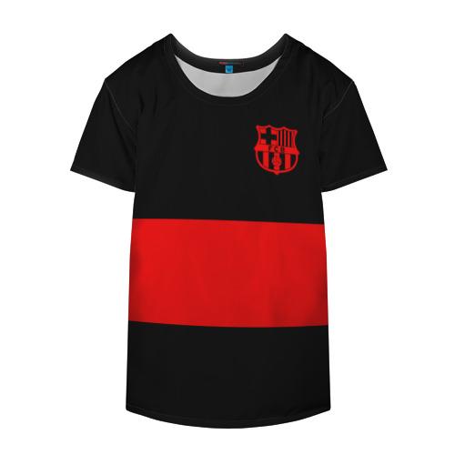 Накидка на куртку 3D  Фото 04, FC Barcelona Black Collection