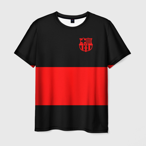 Мужская футболка 3D  Фото 03, FC Barcelona Black Collection