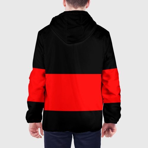 Мужская куртка 3D  Фото 05, FC Barcelona Black Collection