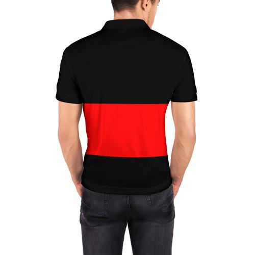 Мужская рубашка поло 3D  Фото 04, FC Barcelona Black Collection