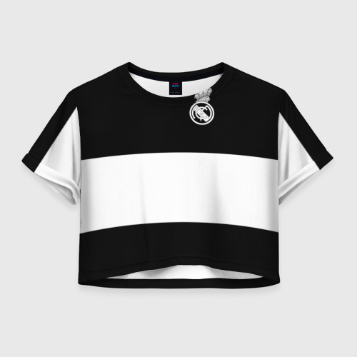 Женская футболка Cropp-top Real Madrid Black Collection
