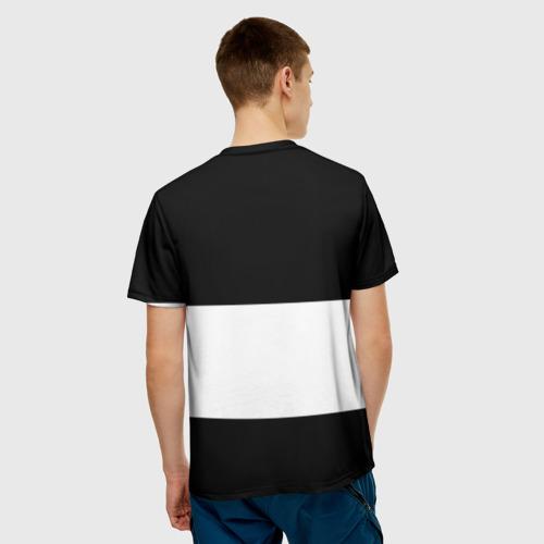 Мужская футболка 3D  Фото 02, Real Madrid Black Collection