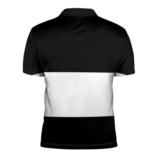 Мужская рубашка поло 3D  Фото 02, Real Madrid Black Collection