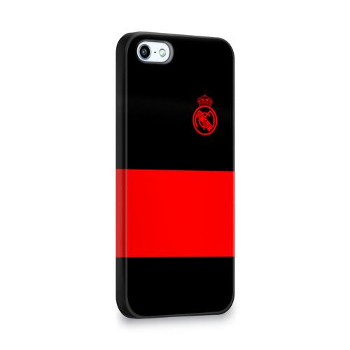 Чехол для Apple iPhone 5/5S 3D  Фото 02, Real Madrid Black Collection