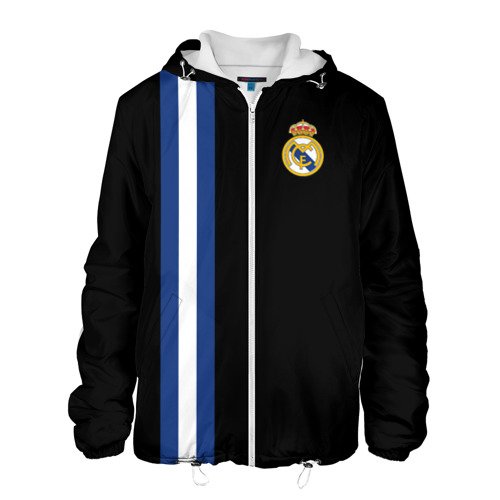 Мужская куртка 3D  Фото 01, Real Madrid Line Collection