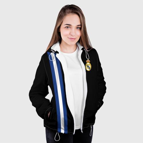 Женская куртка 3D  Фото 04, Real Madrid Line Collection