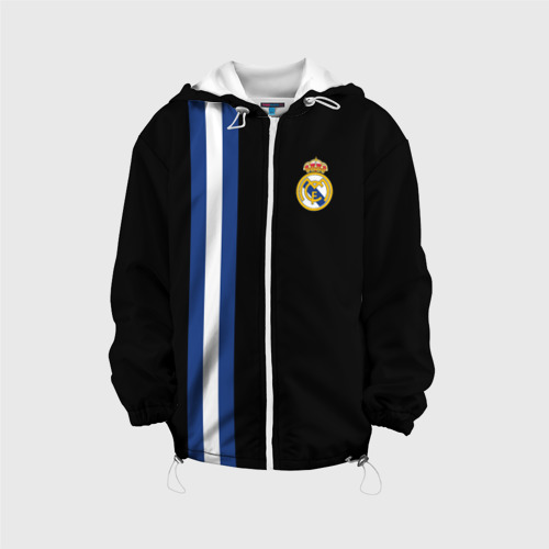 Детская куртка 3D  Фото 01, Real Madrid Line Collection