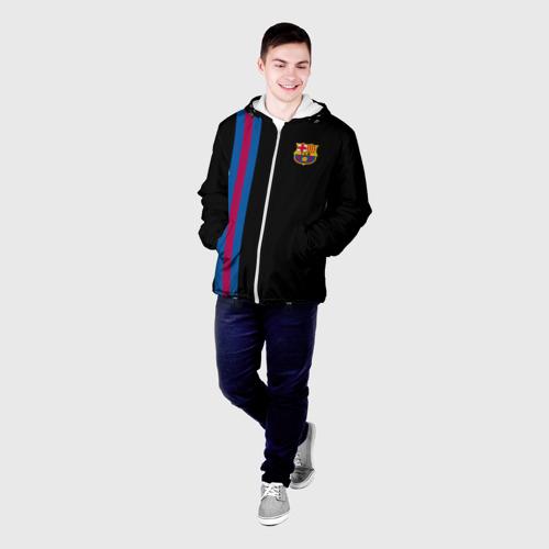 Мужская куртка 3D  Фото 03, FC Barcelona Line Collection