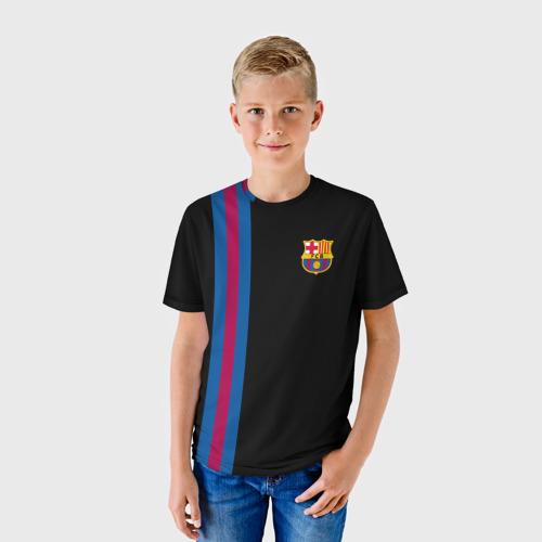 Детская футболка 3D FC Barcelona Line Collection