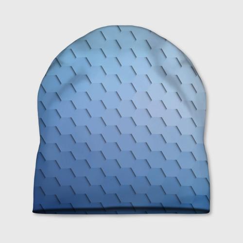 Шапка 3D  Фото 01, Honeycombs