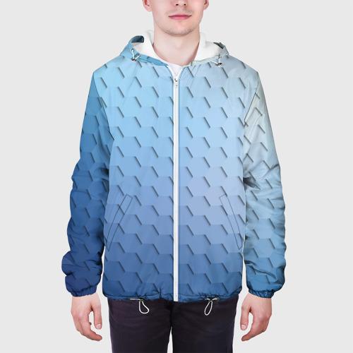 Мужская куртка 3D  Фото 04, Honeycombs