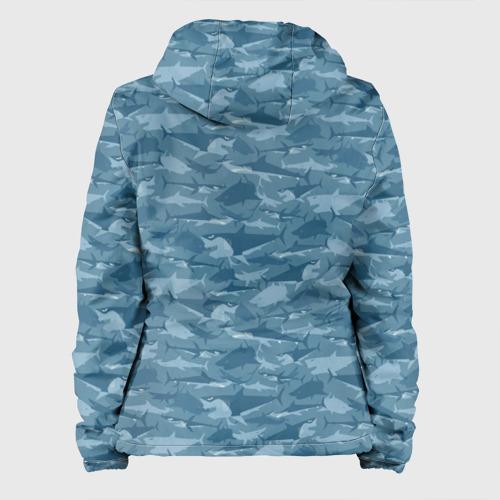 Женская куртка 3D  Фото 02, Акулы