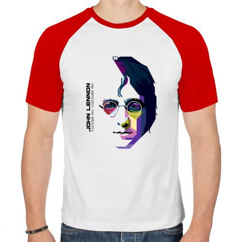 Мужская футболка реглан  Фото 01, Джон Ленон