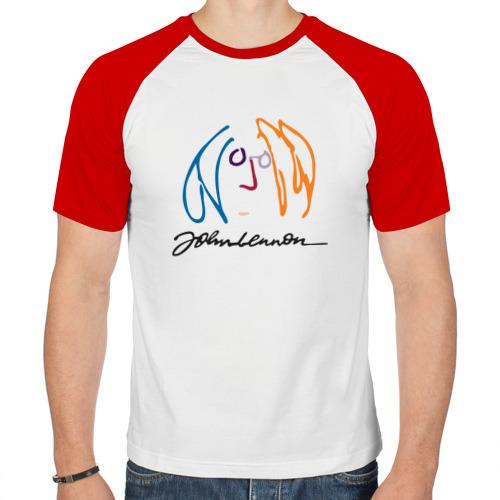 Мужская футболка реглан  Фото 01, Джон Ленон 2