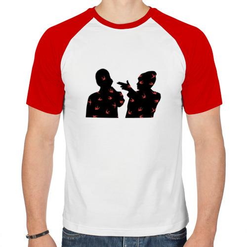 Мужская футболка реглан  Фото 01, Twenty One Pilots