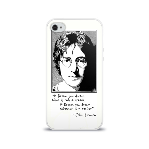 Чехол для Apple iPhone 4/4S силиконовый глянцевый