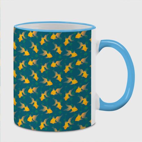 Кружка с полной запечаткой  Фото 02, Золотая рыбка