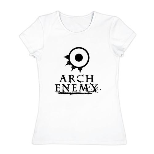 Женская футболка хлопок  Фото 01, Arch Enemy