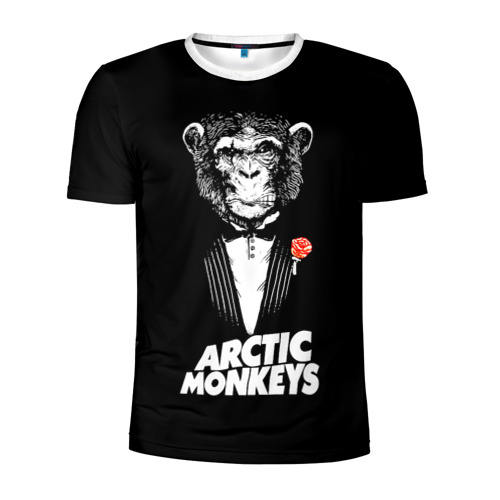 Мужская футболка 3D спортивная  Фото 01, Arctic Monkeys
