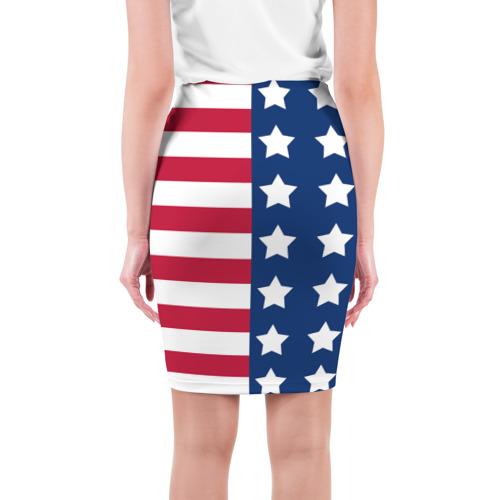 Юбка 3D  Фото 02, USA Flag