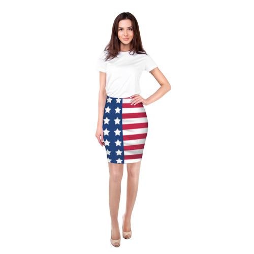 Юбка 3D  Фото 03, USA Flag
